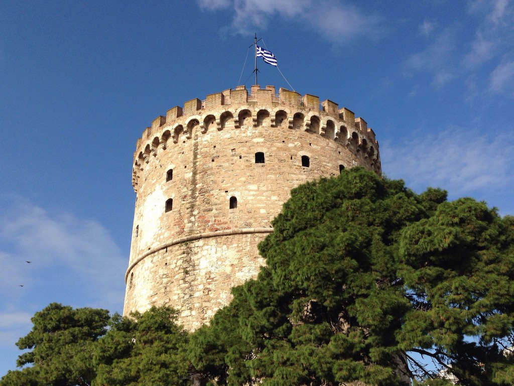 thessaloniki white tower by james dennes